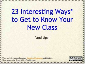 23 ways to know class