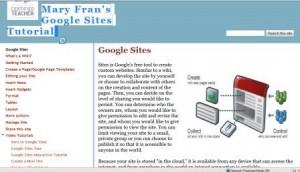 google site tutorial