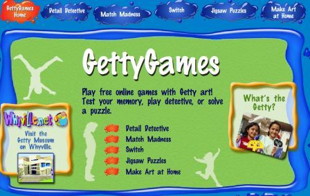 Art Games For Kids