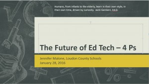 Future of ed tech