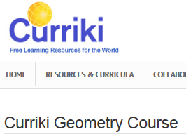 curriki geometry
